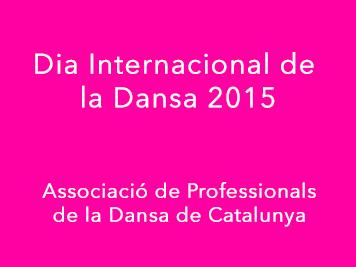 DÍA INTERNACIONAL DE LA DANZA 2015